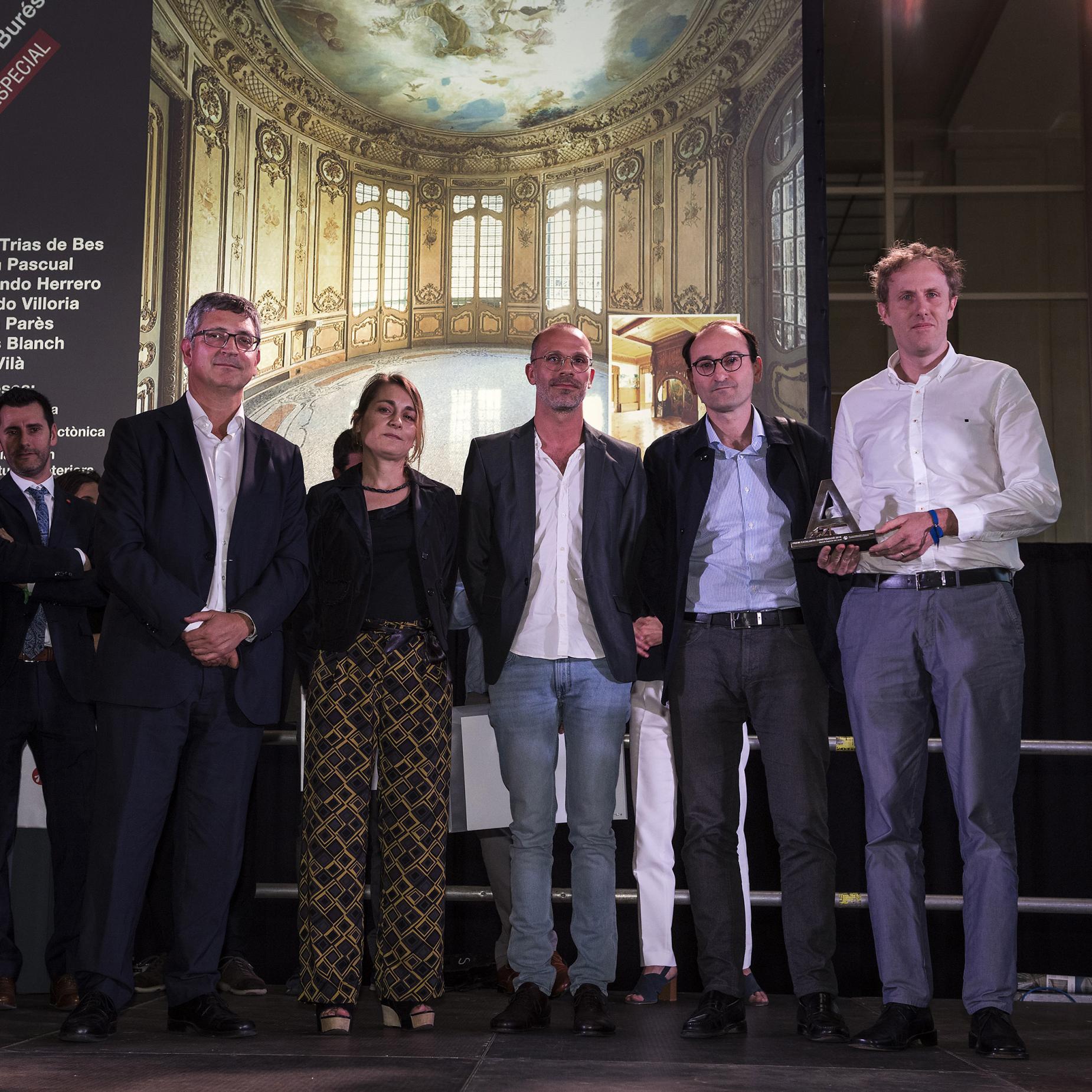 Casa Burés Mención Especial en Premis Catalunya Construcción