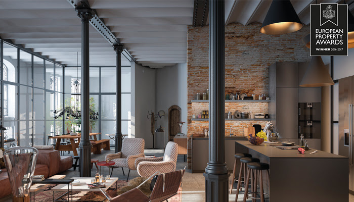 Casa Burés gana un International Property Awards 2016