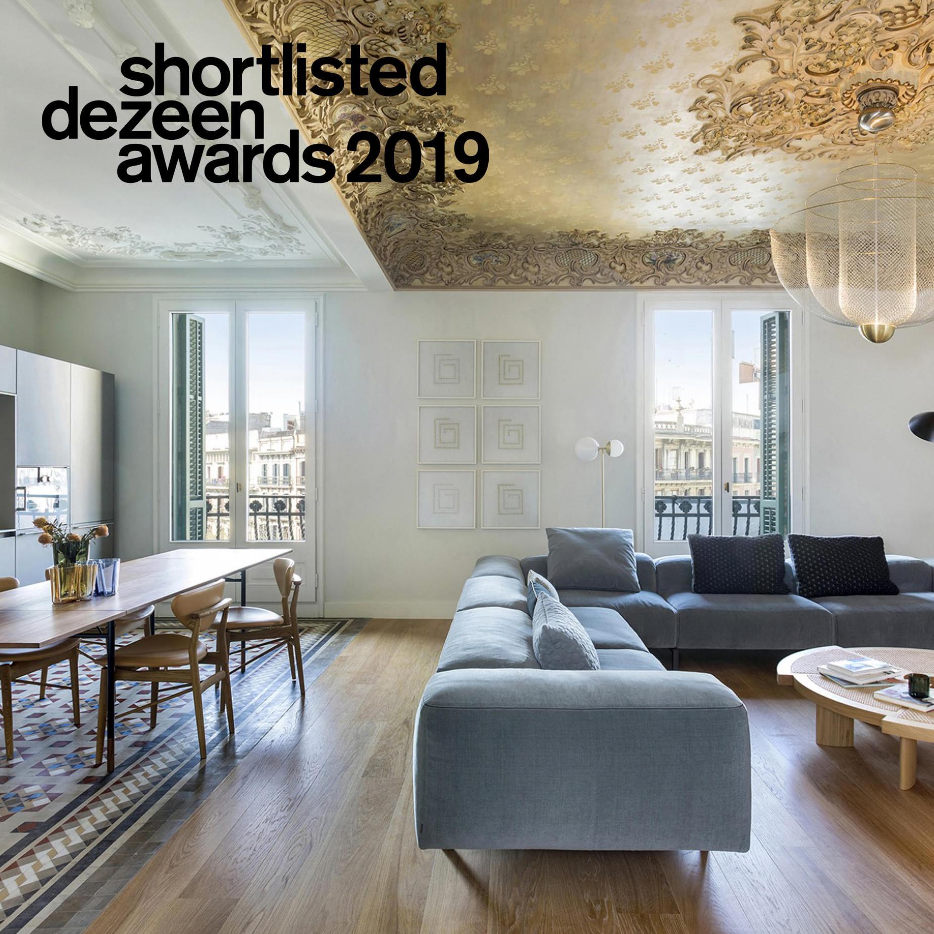 Casa Burés, finalistas de los DEZEEN AWARDS 2019