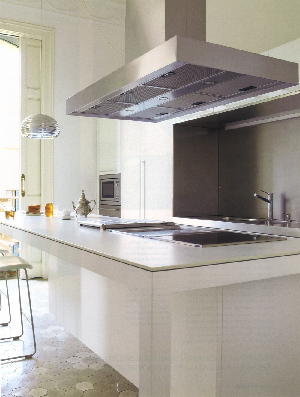Arquitectura y Diseño 108.,Renovation project of housing in the Eixample of Barcelona