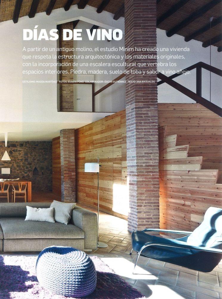 Arquitectura y Diseño 125, Creació d'un habitatge a partir d'un antic molí