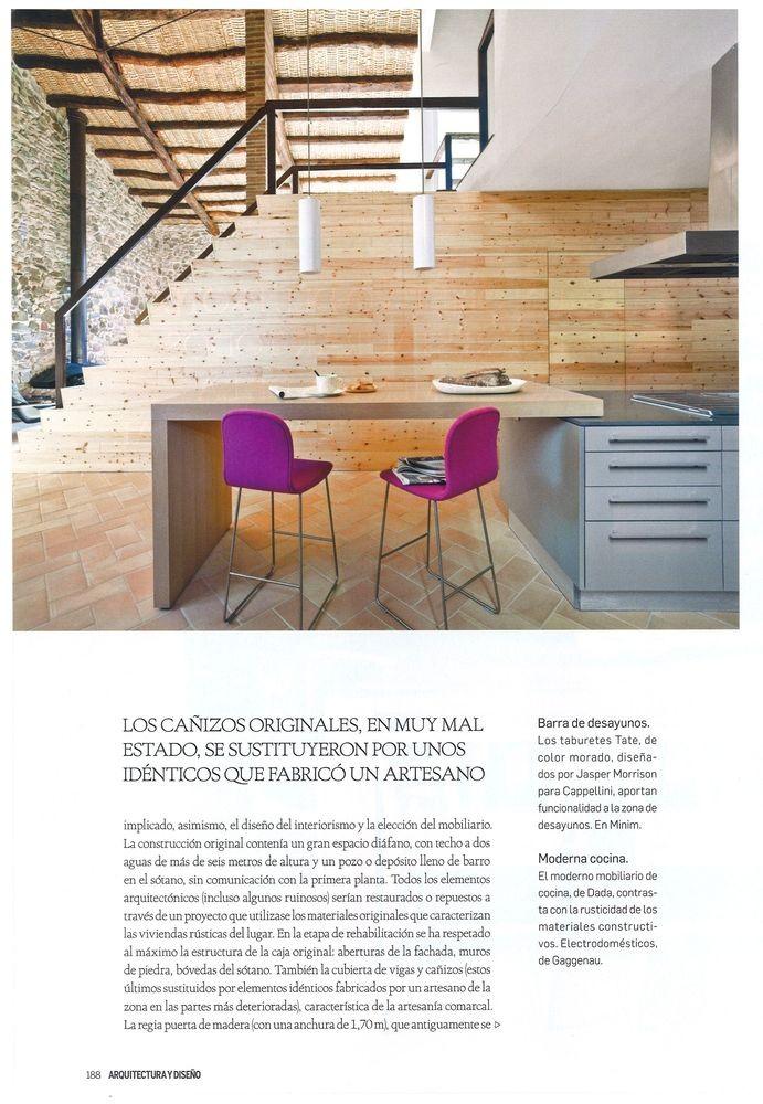 Arquitectura y Diseño 125, Creación de una vivienda a partir de un antiguo molino