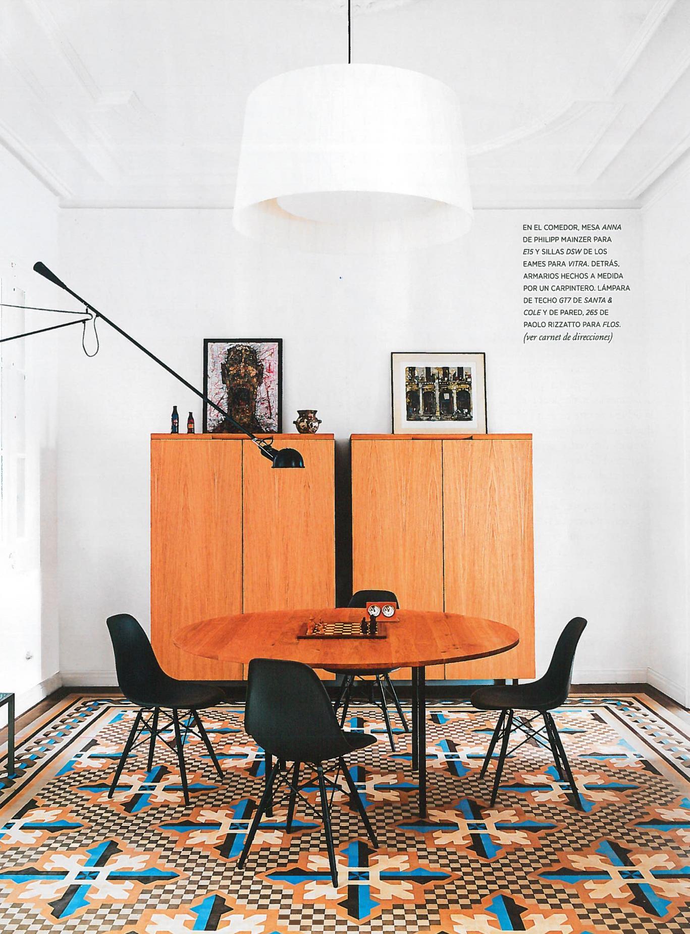 studio vilablach in AD project modernist floor barcelona