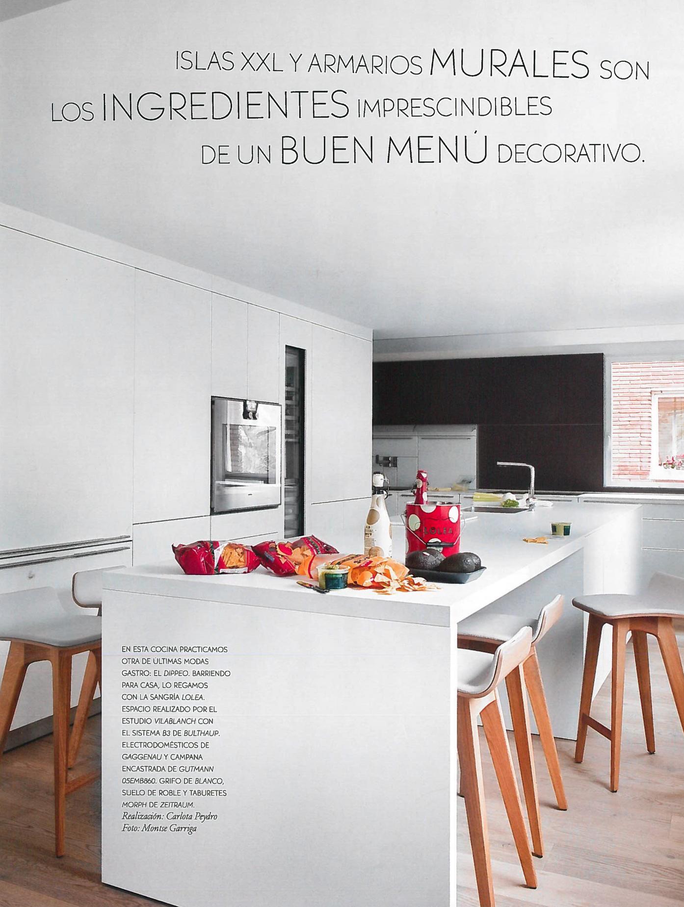Cocina bulthaup barcelona de estudio vilablanch