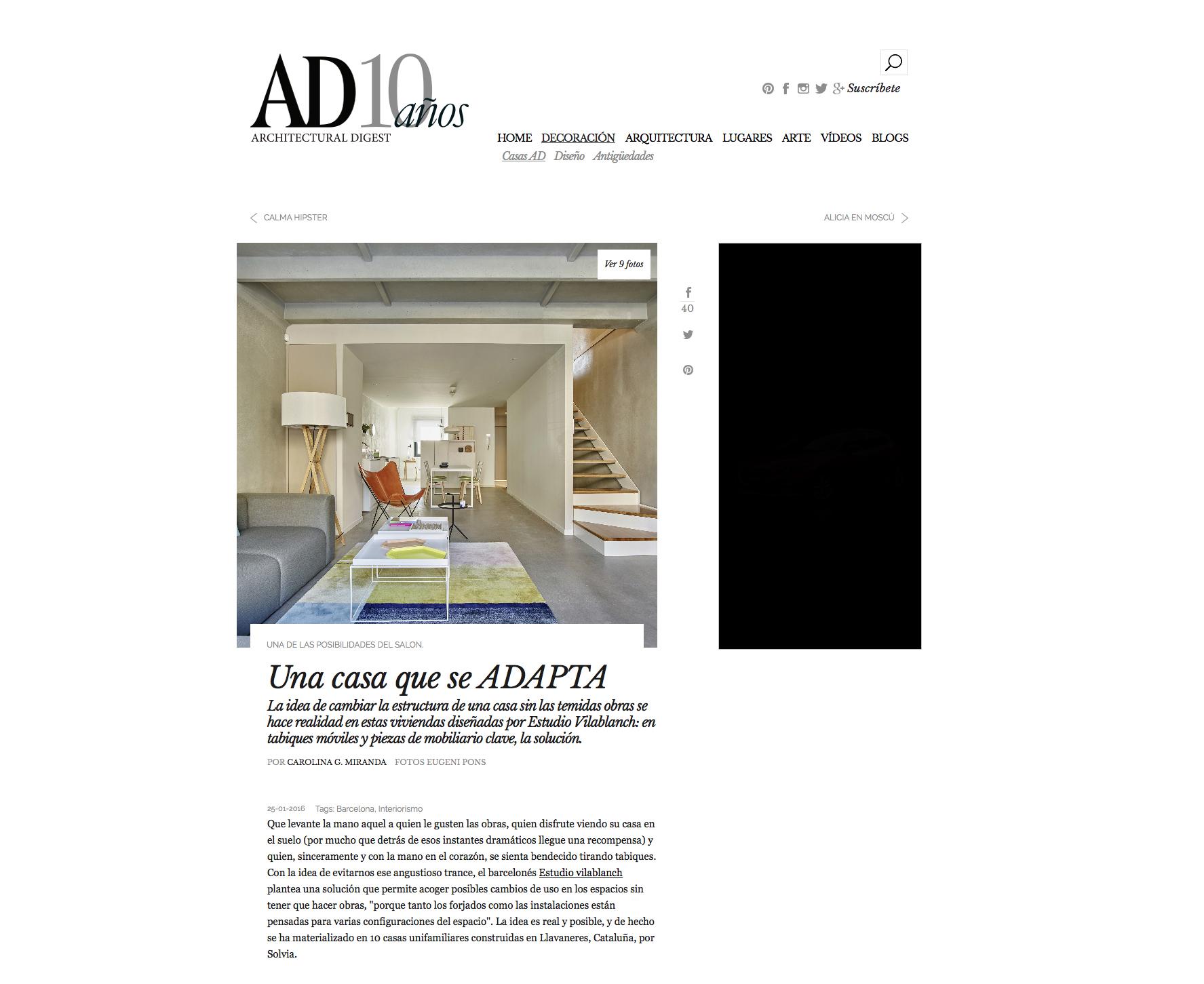 proyecto interiorismo casa flexible y adaptable en llavaneras estudio vilablanch