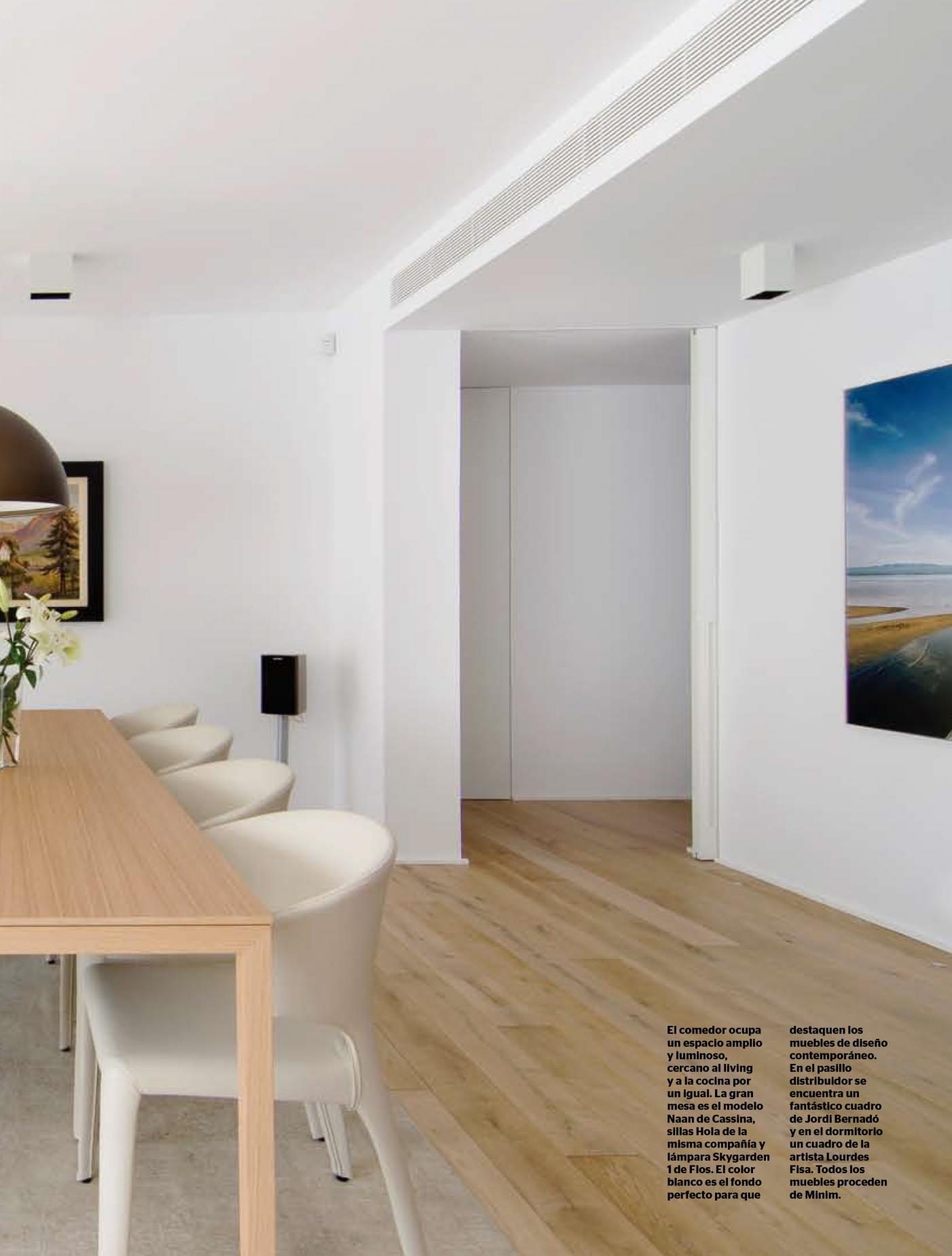 Casa Viva N 234 Vilablanch Estudio De Arquitectura Interior  # Muebles Lourdes