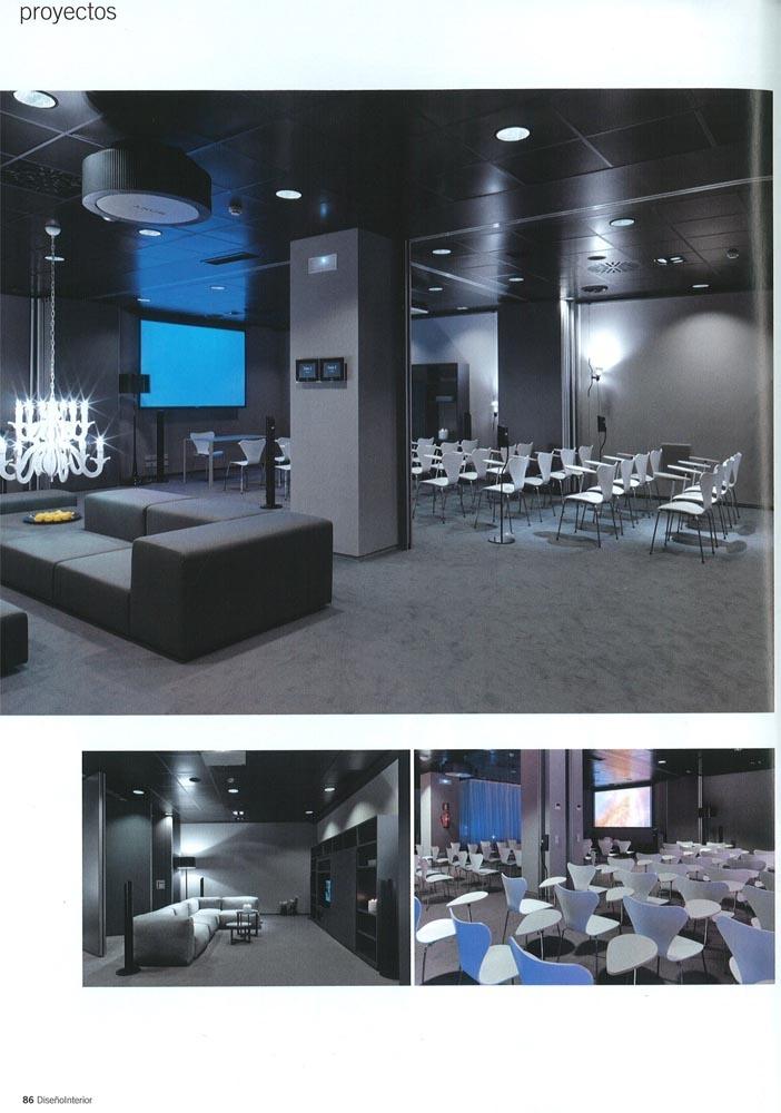 Diseño Interior Nº212. Sony Madrid
