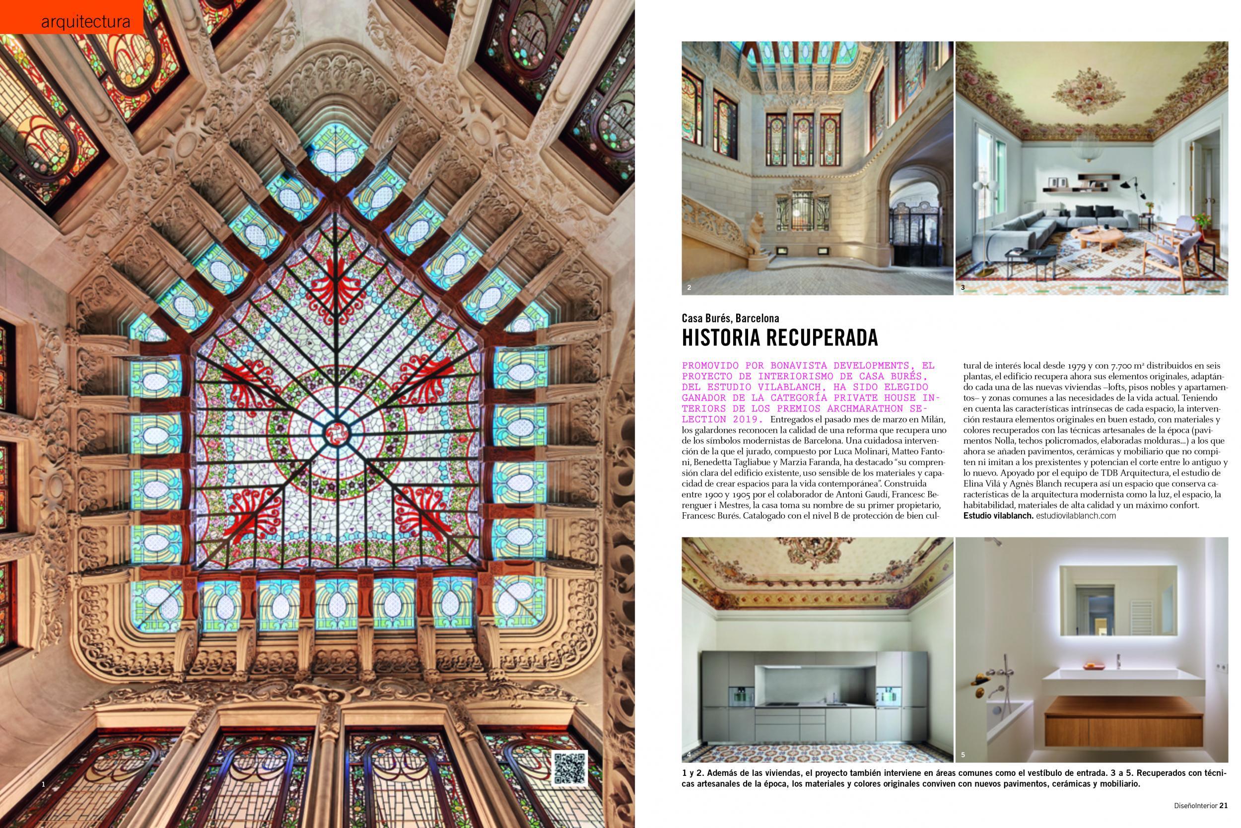 Diseño Interior Casa Bures vilablanch
