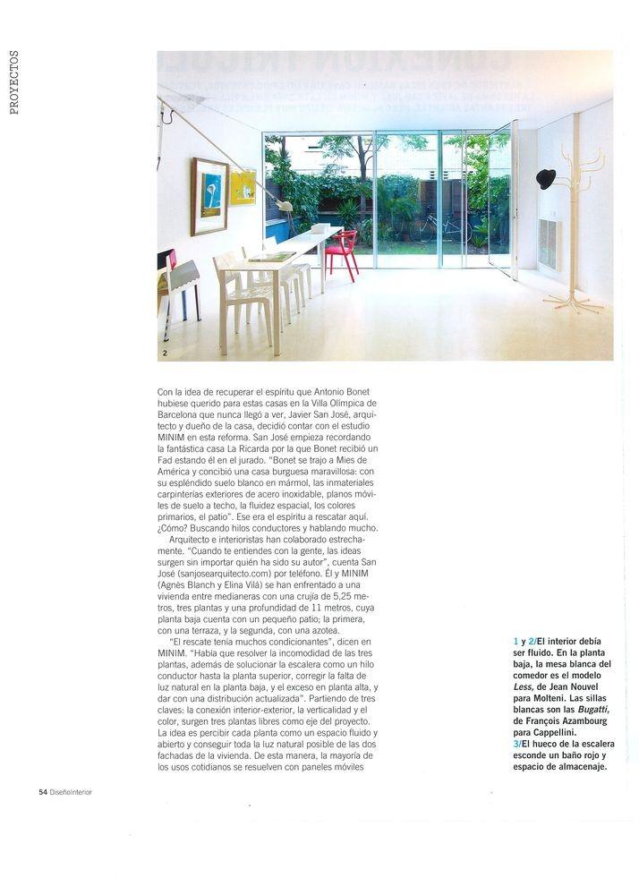 Diseño interior 223, Casa a la Vila Olímpica