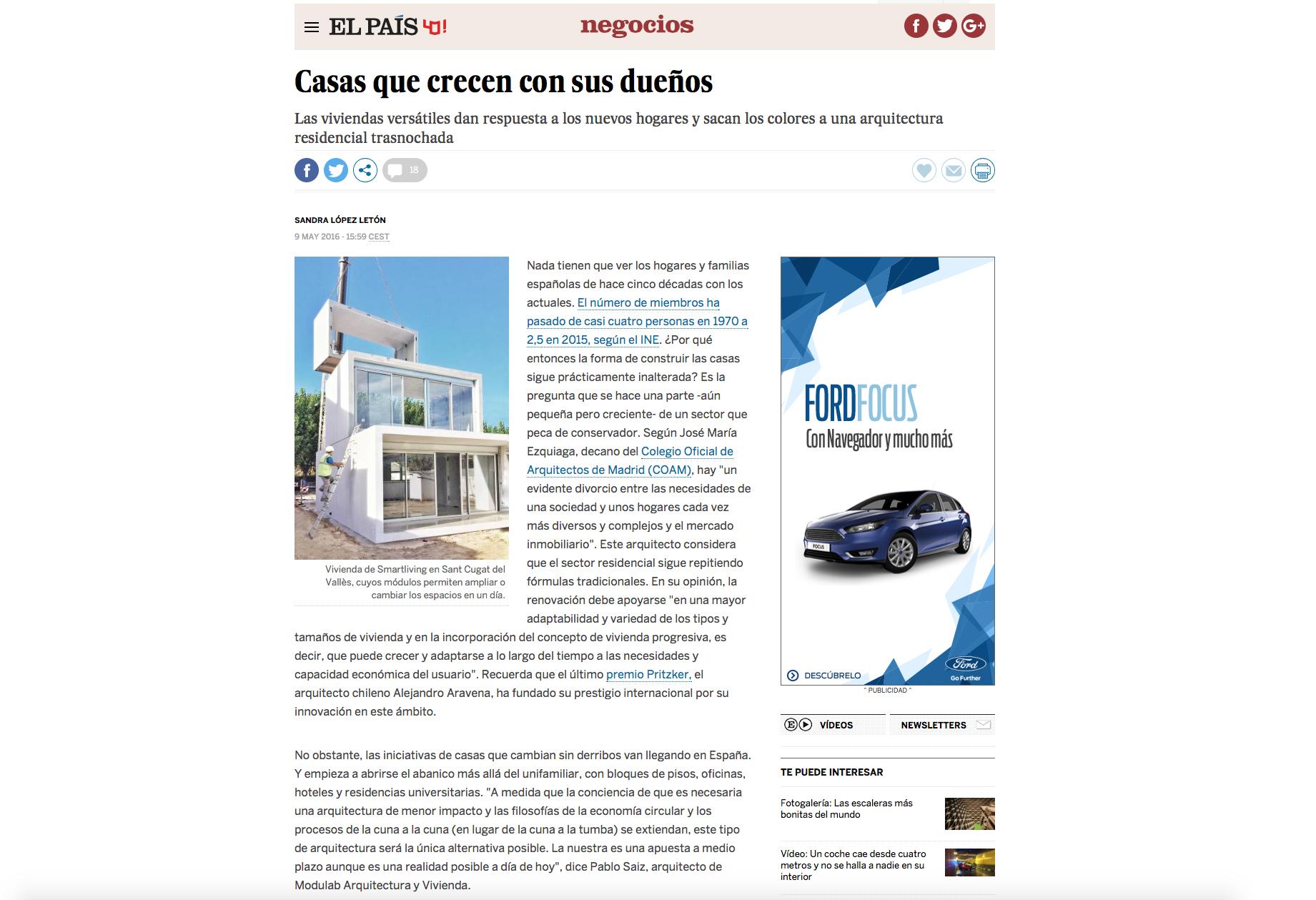 proyecto interiorismo llavaneras casas flexibles vilablanch
