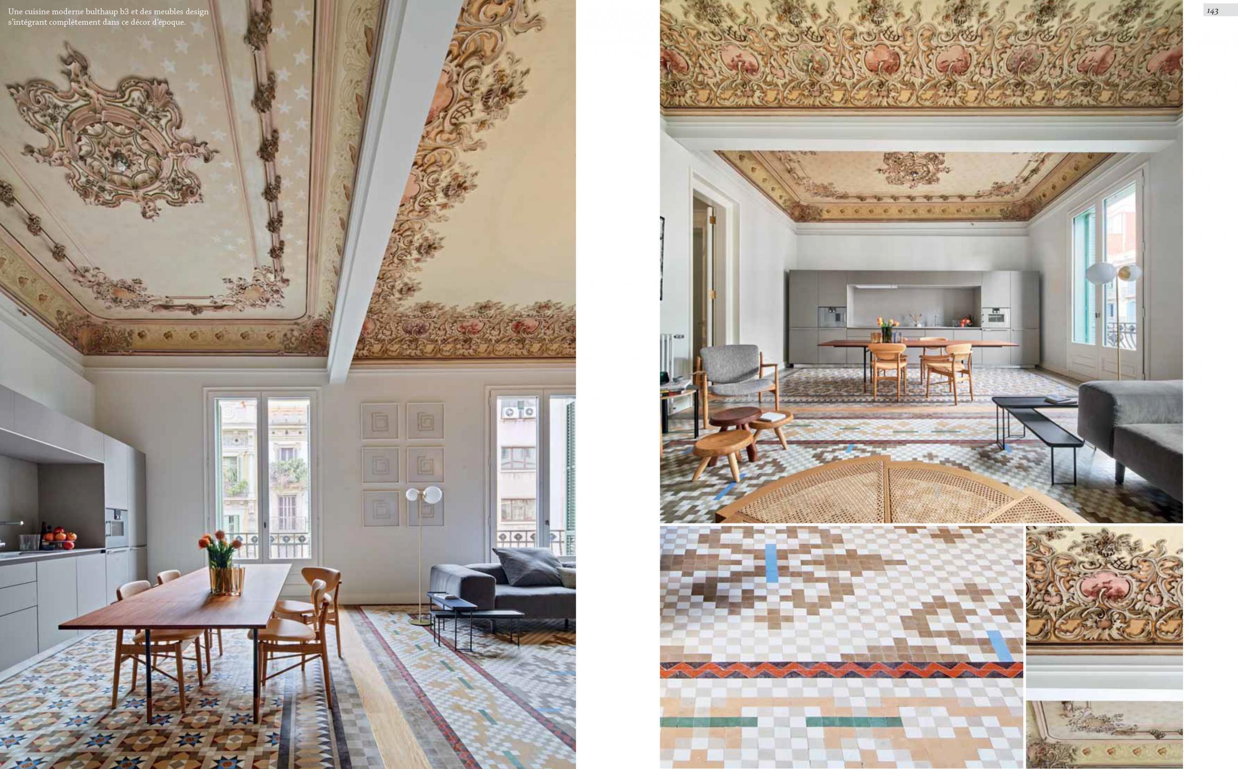 ID Prestige Casa Bures interior design vilablanch
