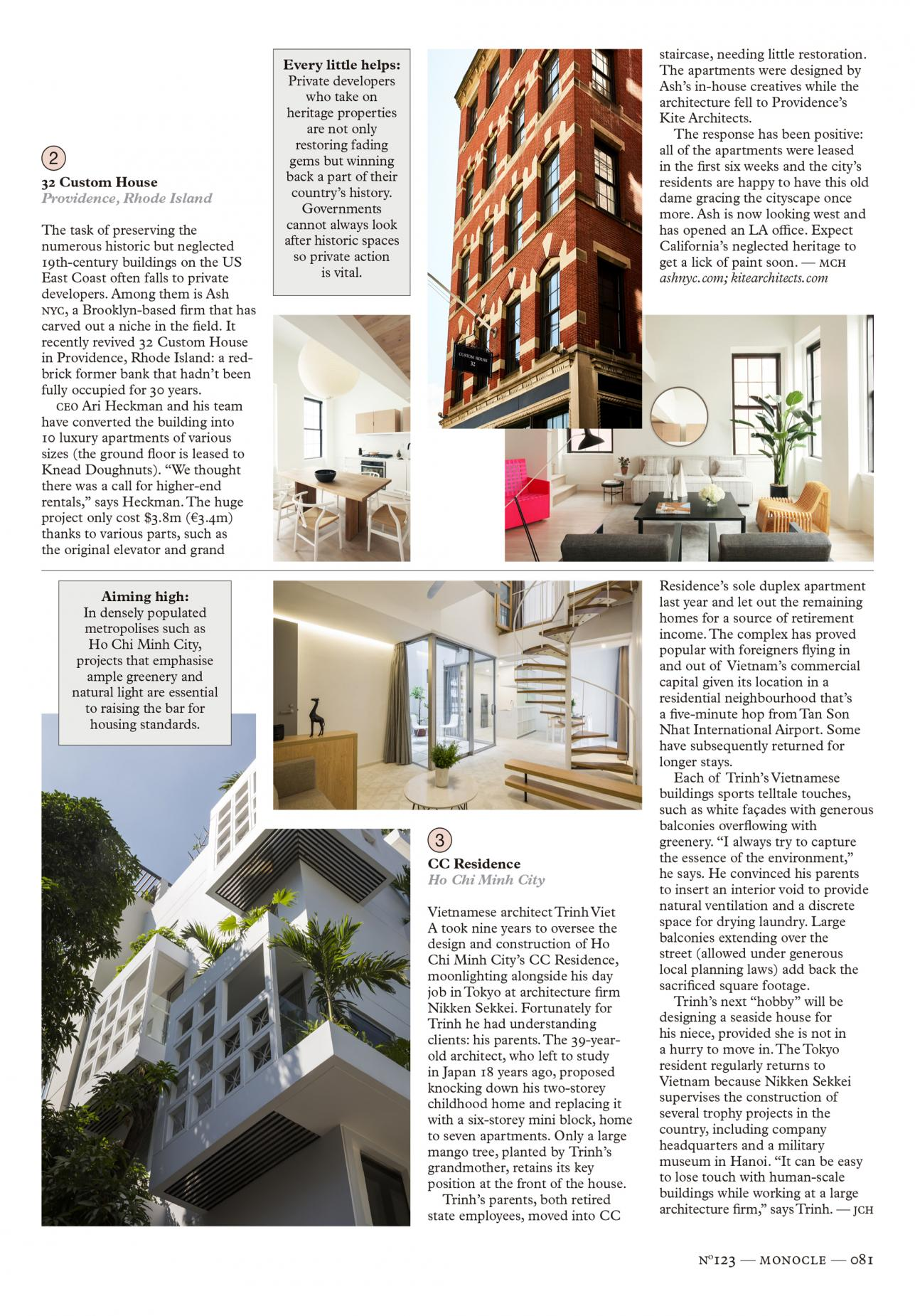 Monocle Casa Burés · estudio vilablanch