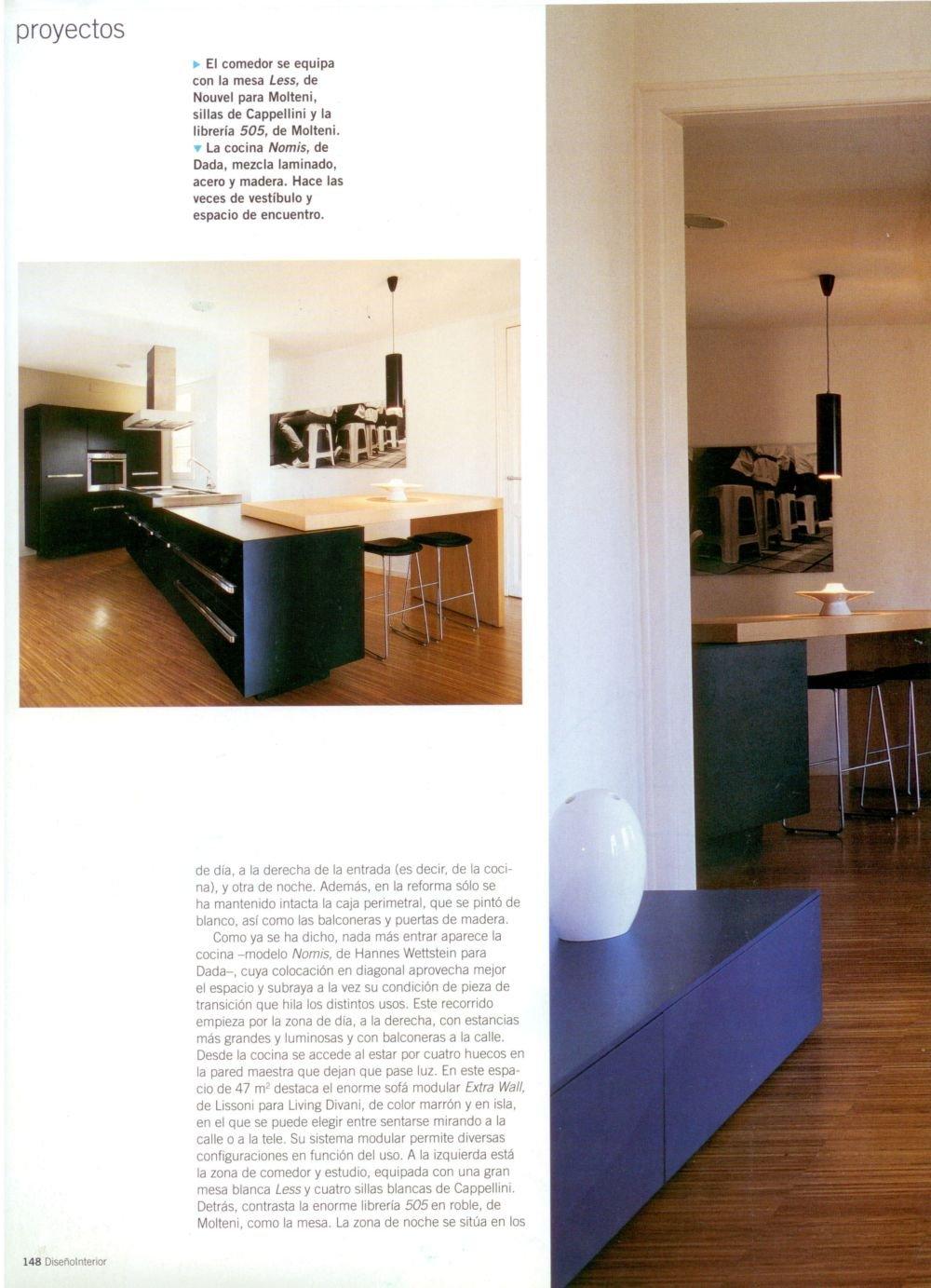 Dise o interior n 176 vilablanch estudio de - Diseno interior barcelona ...