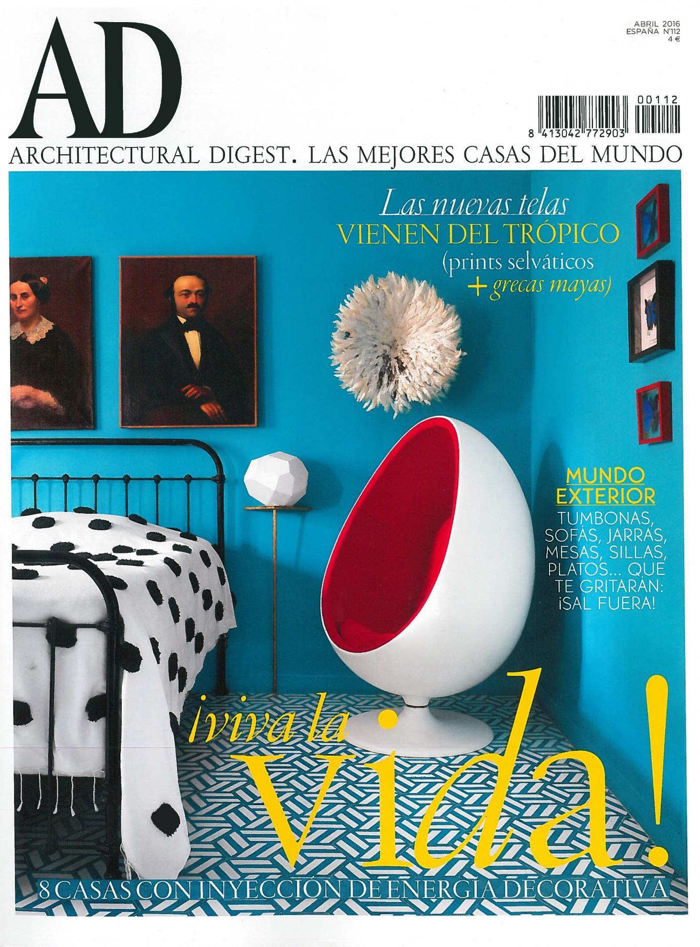 estudio vilablach en AD proyecto piso modernista barcelona