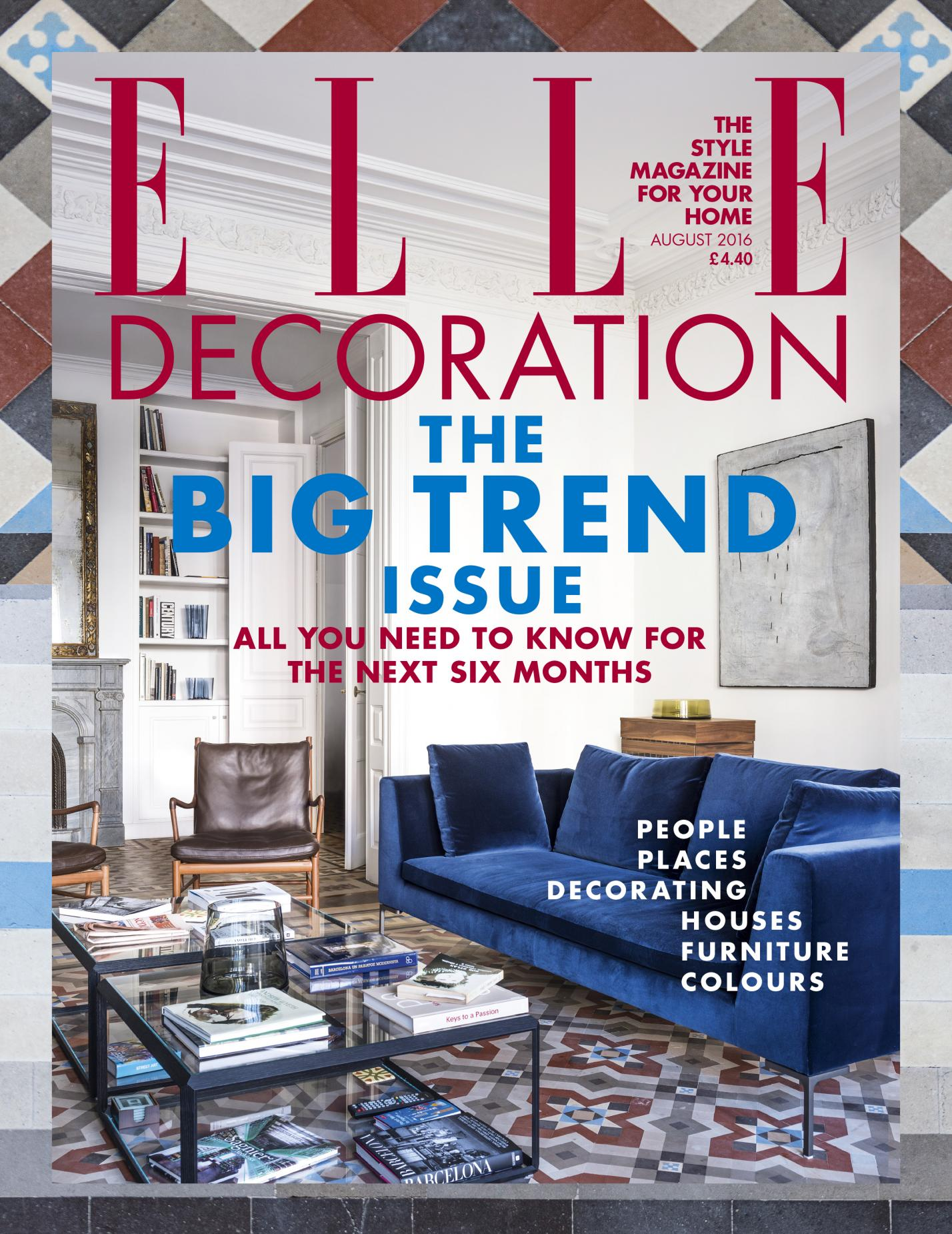 Elle Decoration UK estudio vilablanch