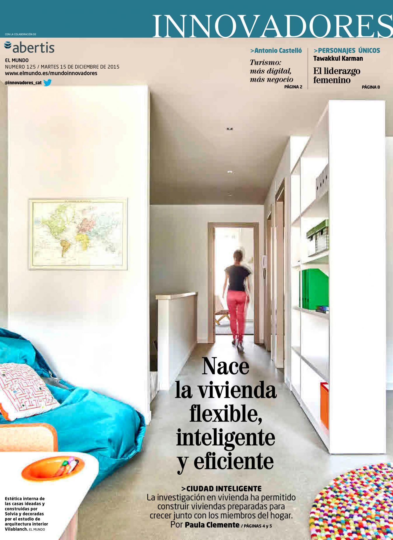 studio vilablanch interior design project Solvia Llavaneras El Mundo