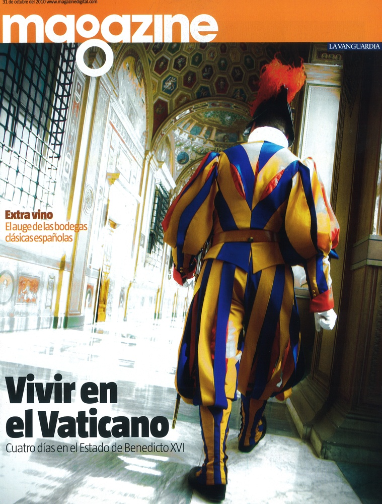 La Vanguardia Magazine. 31 octubre 2010