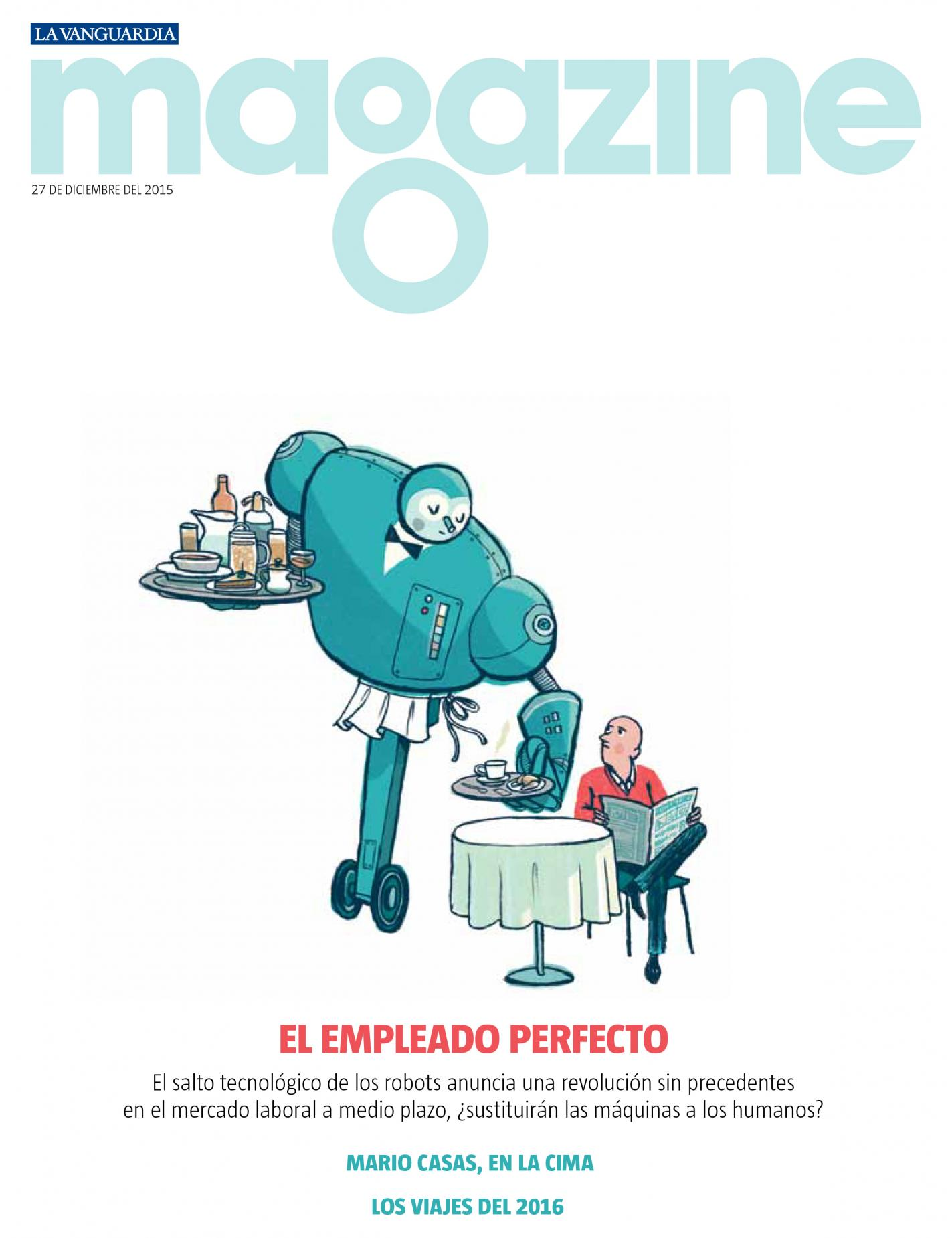 La Vanguardia · Magazine (dec. 2015)
