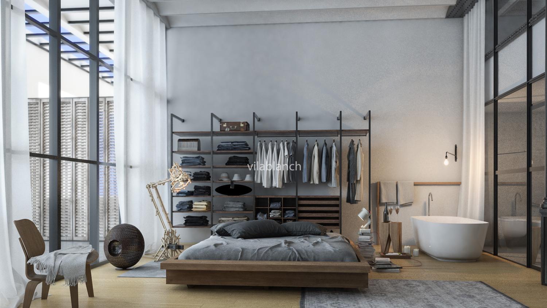 Lofts de la casa bur s proyecto de interiorismo - Estudios de interiorismo barcelona ...