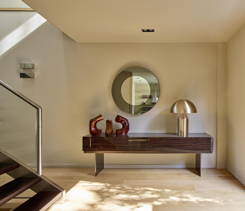 Proyecto de interiorismo de una casa en sant gervasi for Estudios de interiorismo barcelona