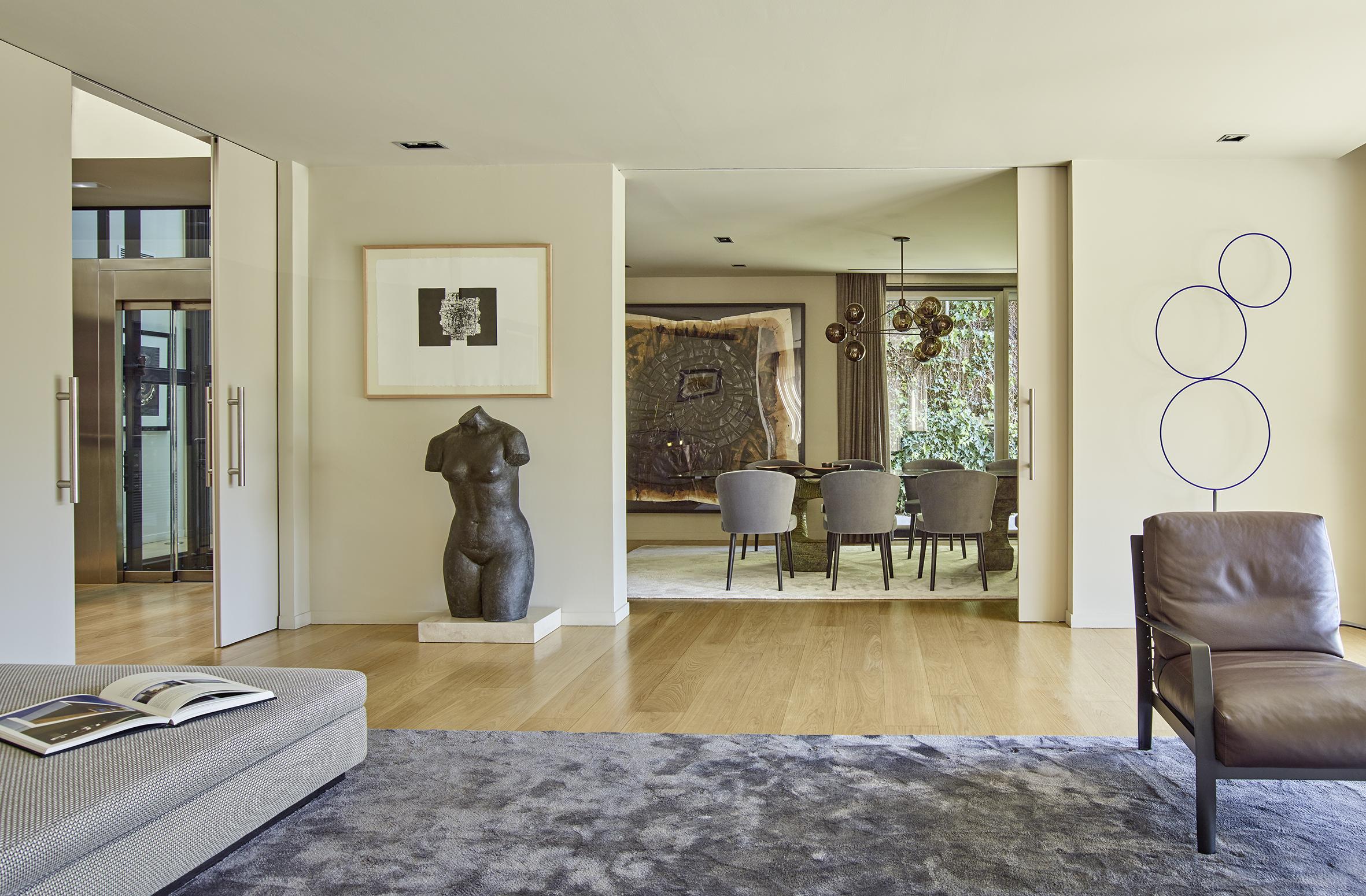 Proyecto de interiorismo de una casa en sant gervasi vilablanch estudio de arquitectura - Estudios de interiorismo en barcelona ...