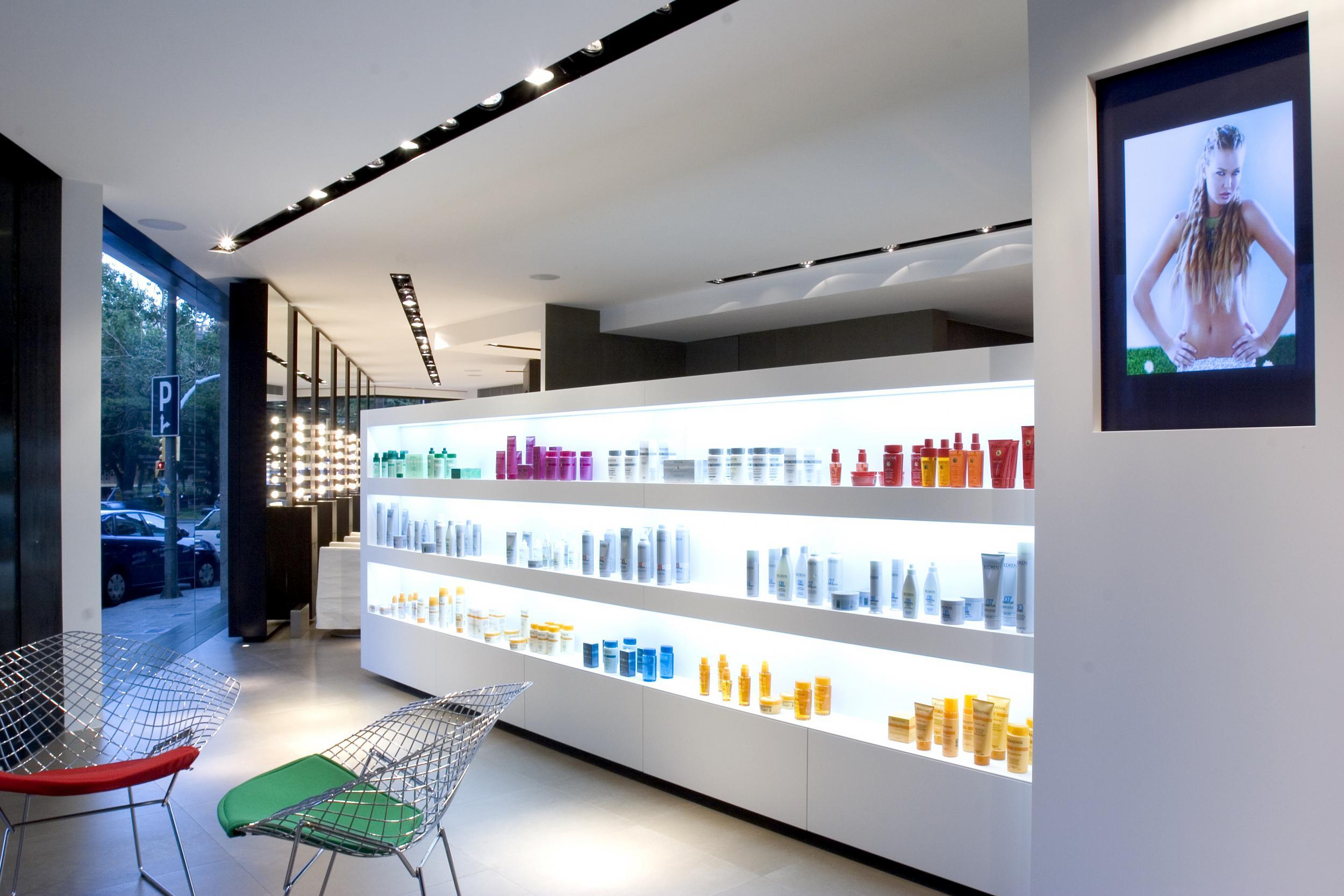 Estanterias de obra para salon best obra para salon interesting good estanterias with - Studio barcelona muebles ...