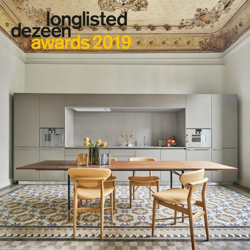 Casa Burés en la longlist de los Dezeen Awards