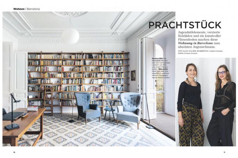 La revista alemana Modern Wohnen publica un proyecto de vilablanch