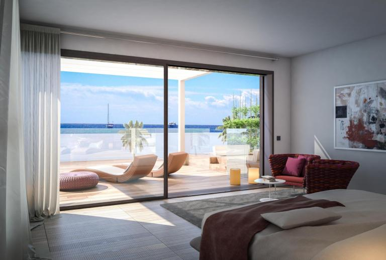Gavá Mar promoción residencial interiorismo vilablanch
