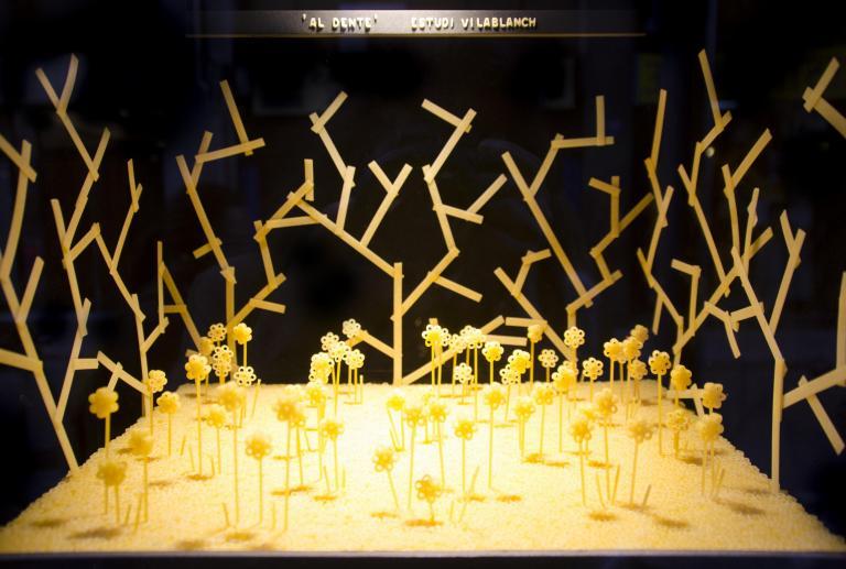 """""""Al dente"""" en el restaurante il giardinetto Barcelona"""
