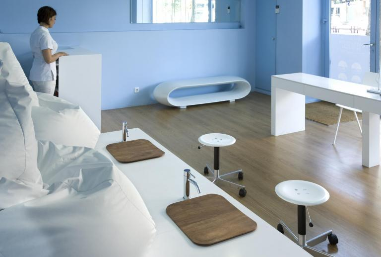 Projecte d'interiorisme comercial centre d'estètica innovador a Barcelona