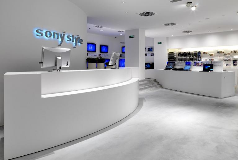 Sony Style Shop, Madrid