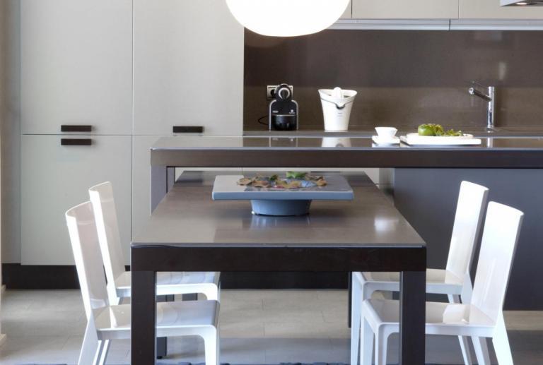 Proyecto de interiorismo vivienda duplex luminoso amplio y diáfano en el Paseo Bonanova de Barcelona