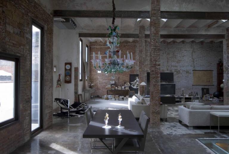 Loft industrial en el centro de barcelona vilablanch estudio de arquitectura interior situado - Loft industrial barcelona ...