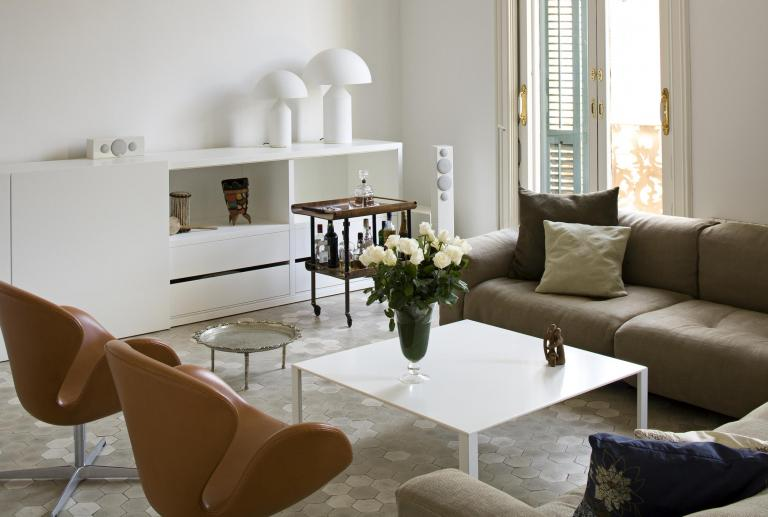 Stately apartment in Eixample Barcelona