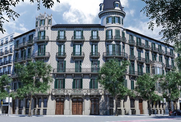 Zonas comunes Casa Burés Barcelona by estudio vilablanch