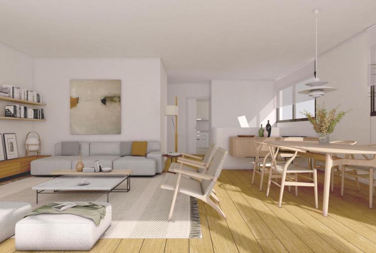 Solvia Mataró promoción residencial interiorismo vilablanch