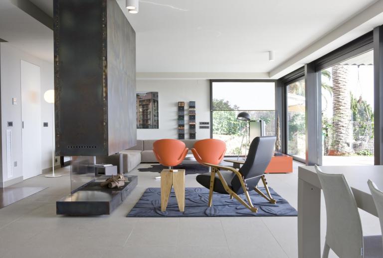 Casa abierta al paisaje en Lloret de mar, Gerona