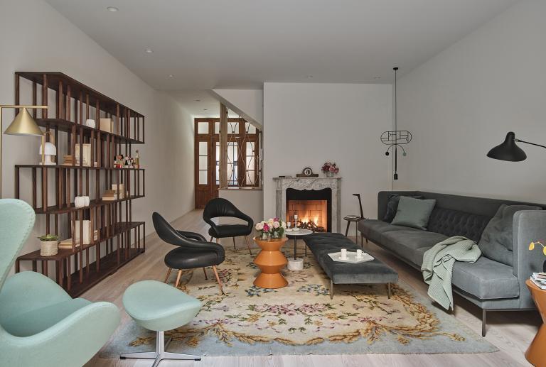 Reforma e interiorismo de una casa en Sarriá vilablanch