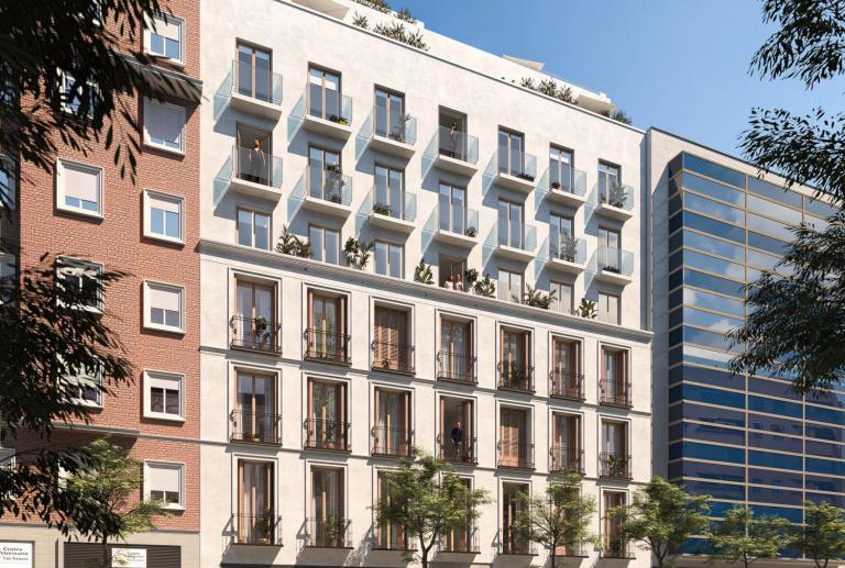 Interiorismo 20 viviendas exclusivas en Chamberí