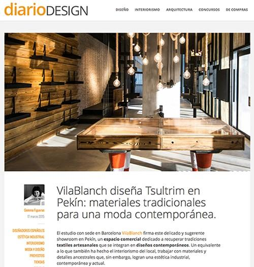 Tsultrim Project in DiarioDESIGN