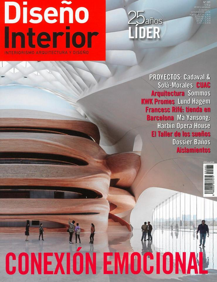 Interiorismo vilablanch showroom Tsultrim Diseño Interior
