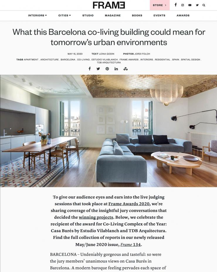 FRAME Magazine · Casa Burés