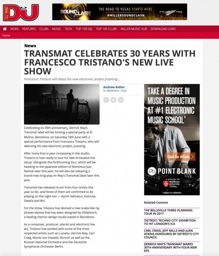 Colaboración francesco tristanto y estudio vilablanch