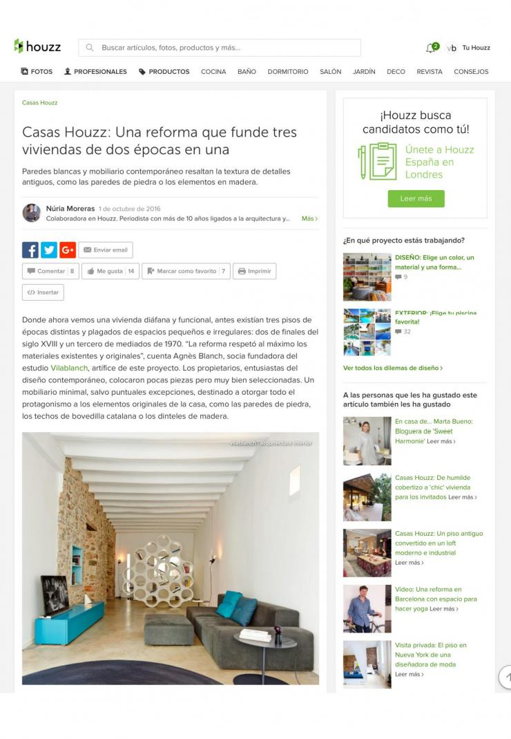 Reformation project estudio vilablanch in Falset