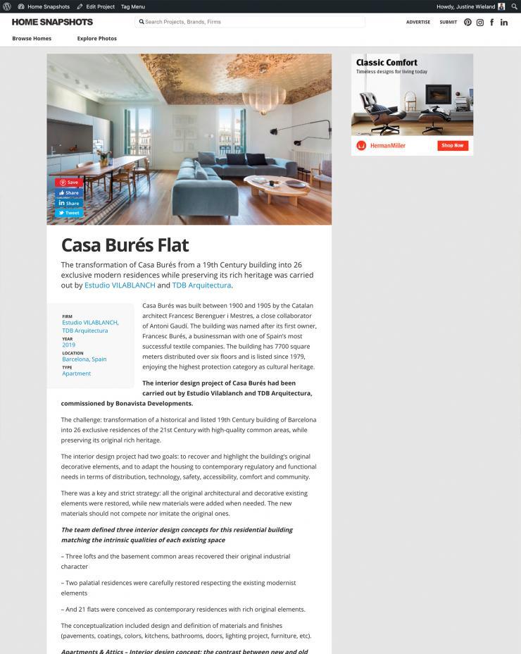 Home Snapshots Casa Burés Estudio vilablanch