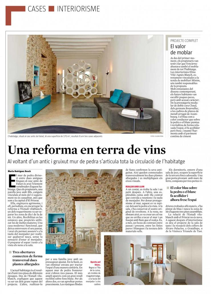 vilablanch a La Vanguardia