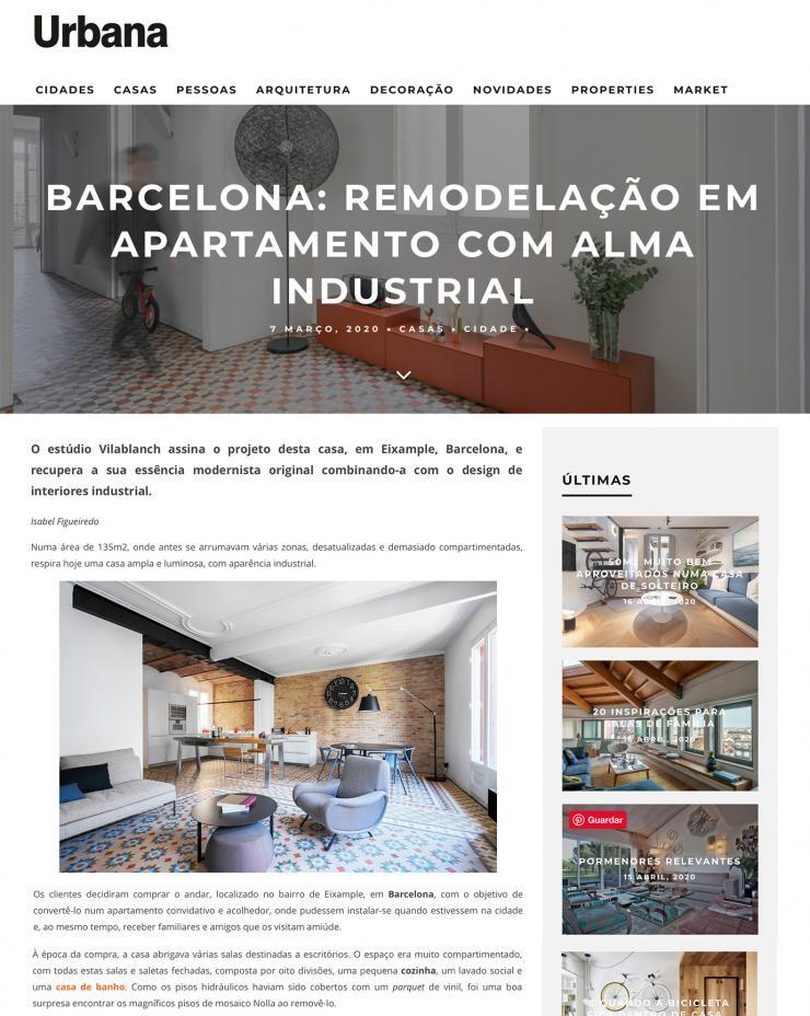 Urbana Magazine (Portugal) · Marzo 2020