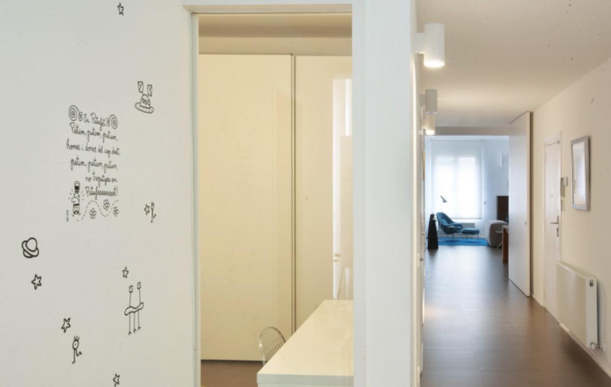 Projecte d'interiorisme habitatge loft industrial reforma global a Barcelona