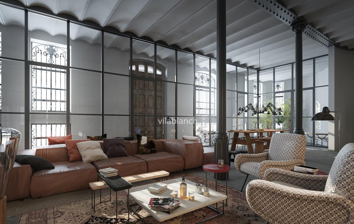 Casa bur s lofts interior design project vilablanch - Proyectos de casas ...
